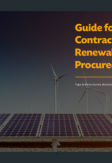 Guide for Designing Contracts for Renewable Energy Procured by Auctions