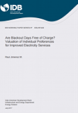 Are Blackout Days Free of Charge?: Valuation of Individual Preferences for Improved Electricity Services